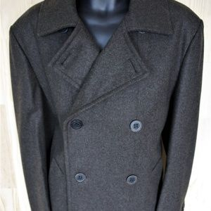 Marc Jacobs Collection Wool Pea Coat/NWOT/Size 42